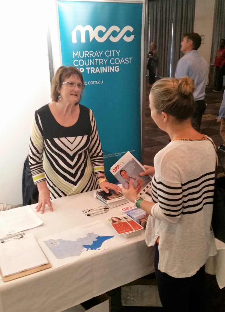 GP Training up in lights at 2016 Medical Careers Expo